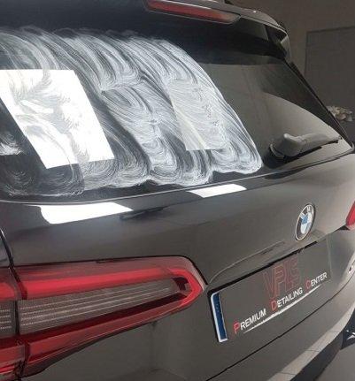 TRAITEMENT VITRES X5 BMW CERAMIQUE VPLS